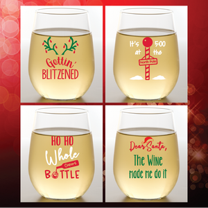 Wine-Oh! - BLITZENED Shatterproof Wine Glasses