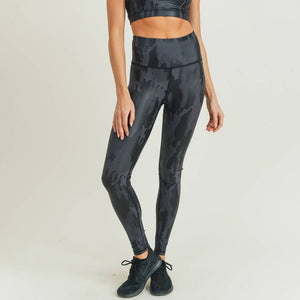 Mono B - Camo Foil Highwaist Leggings