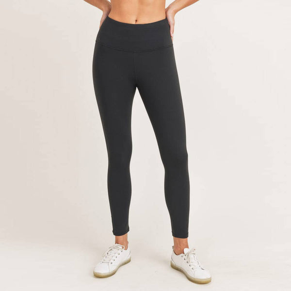 Mono B - Thermal Essential Brushed Highwaist Leggings