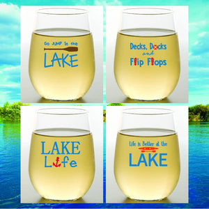 Wine-Oh! - LAKE Shatterproof Wine Glasses