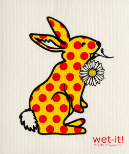 Wet-it! - Polka Bunny Swedish Cloth
