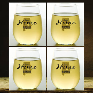 Wine-Oh! - ALABAMA Shatterproof Wine Glasses