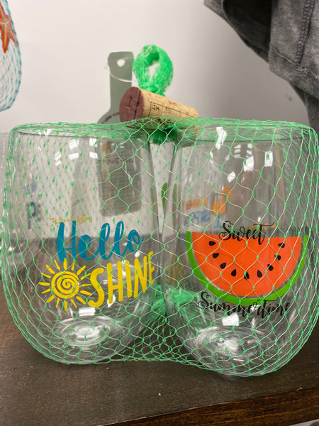 Wine-Oh! - SUMMER Shatterproof Wine Glasses