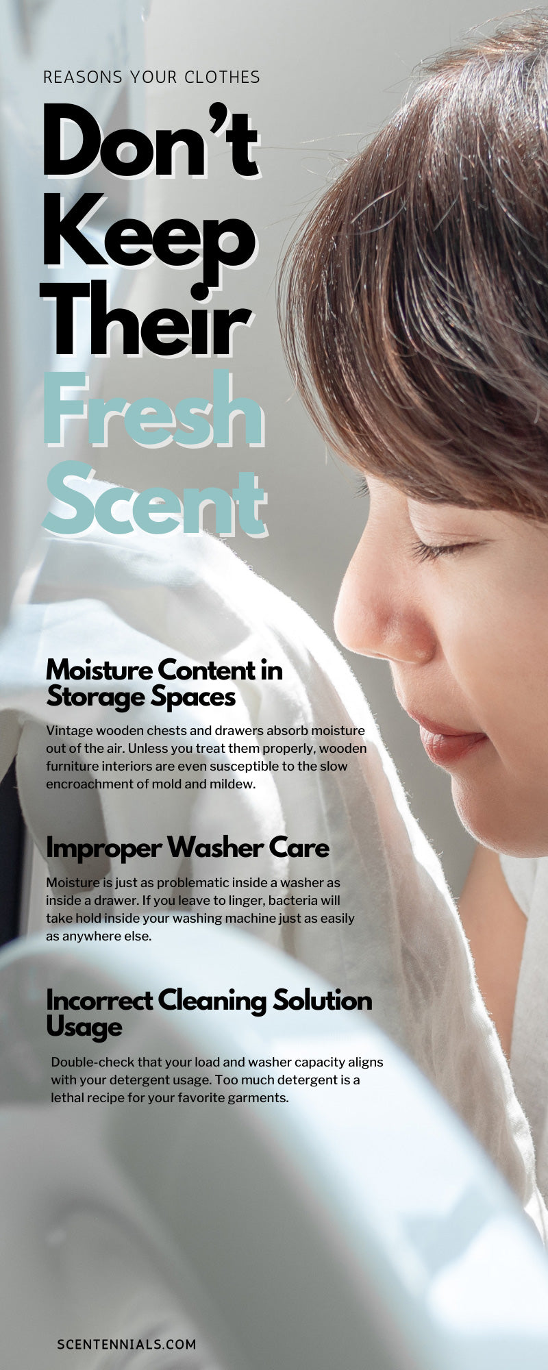 Reasons Your Clothes Don't Keep Their Fresh Scent
