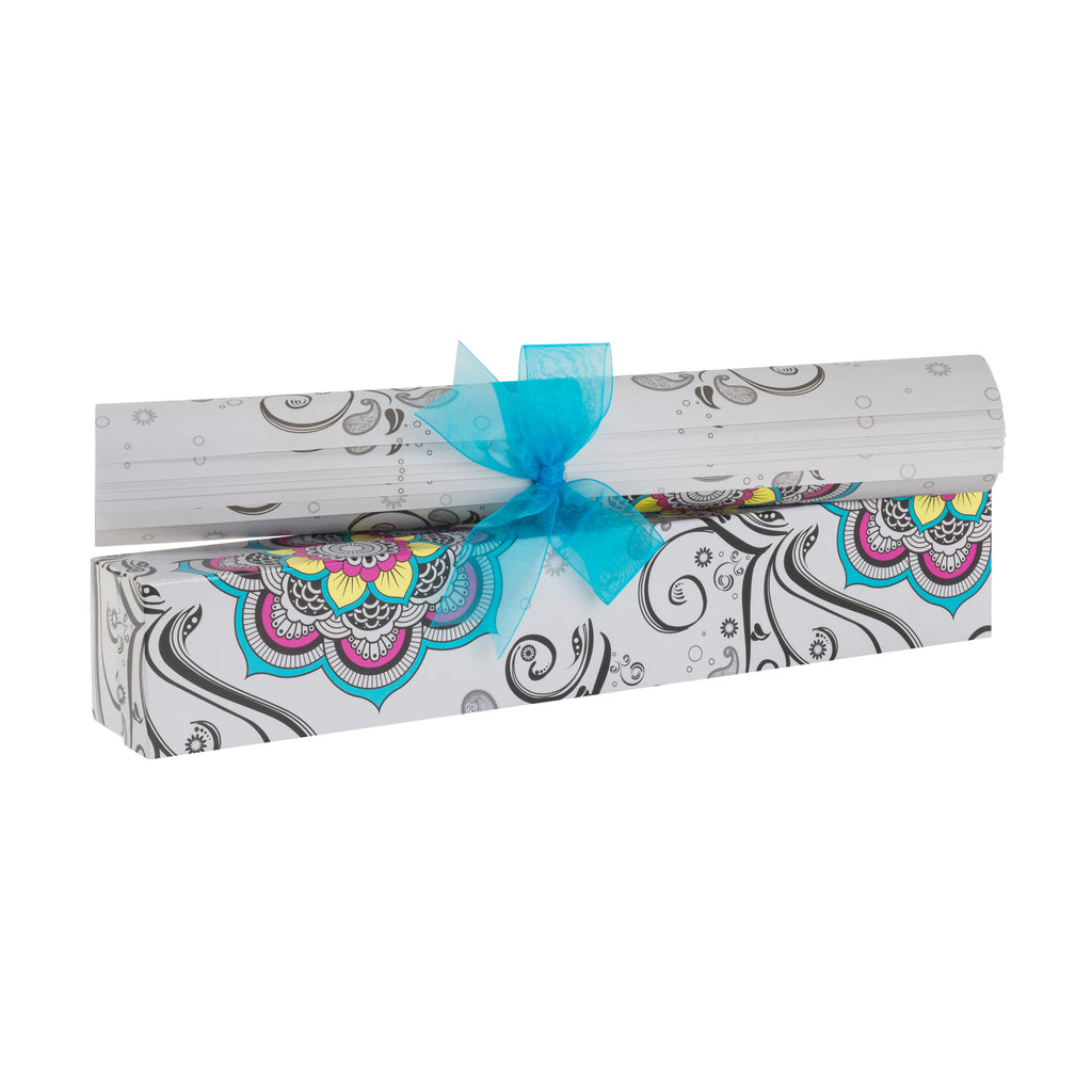 Mosaic Harmony Scented Drawer Liners