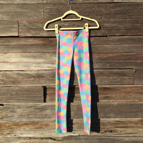 Aviation Youth Leggings [Sky]