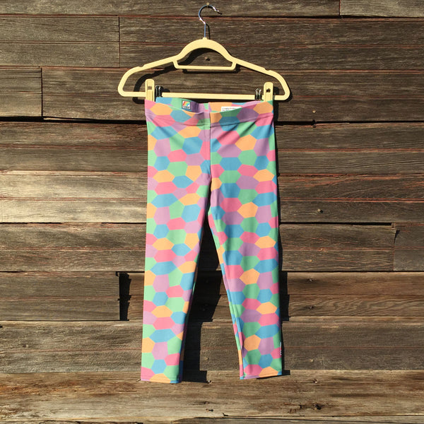 Aviation Capri Leggings [Sky]