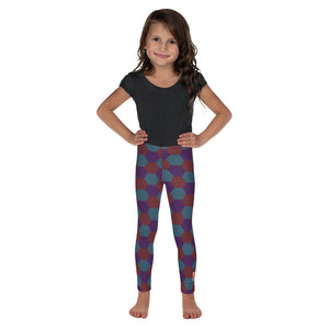 Aviation Kid Leggings [Night Hex]