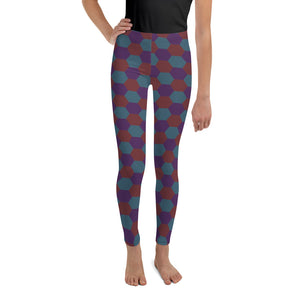 Aviation Youth Leggings [Night Hex]