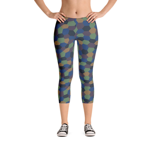 Aviation Capri Leggings [Field]