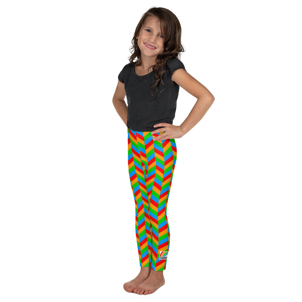Chevron Kid Leggings [Rainbow]