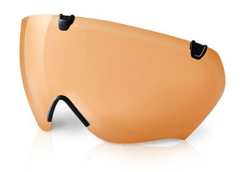 Kask Bambino Pro Visier orange