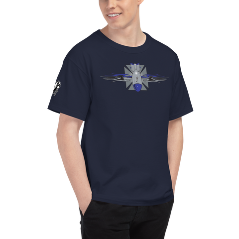 FBomb Maltese Cross FBomb Champion T-Shirt