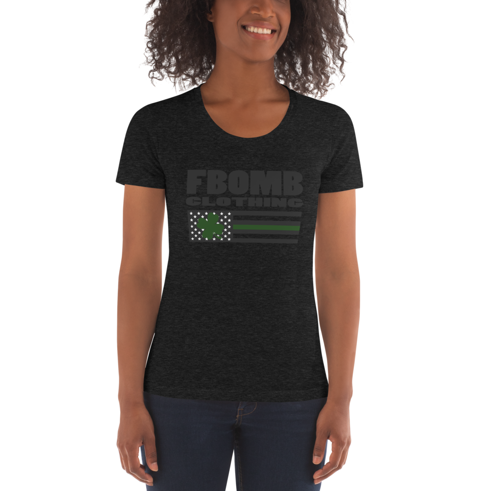 Women's FBomb St. Patricks Day Crew Neck T-shirt