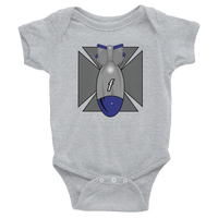 Infant FBomb Maltese Cross Bodysuit