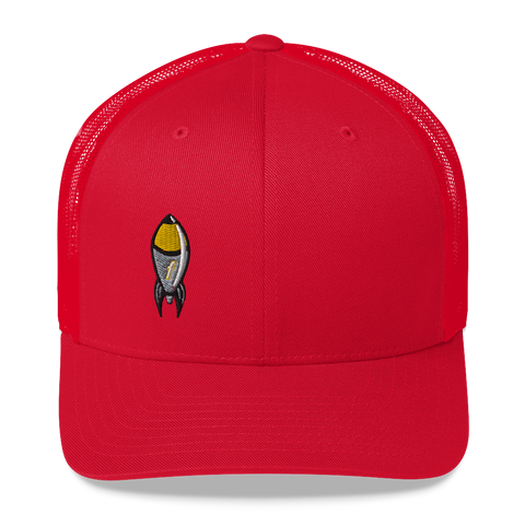 Cartoon FBomb Trucker Cap