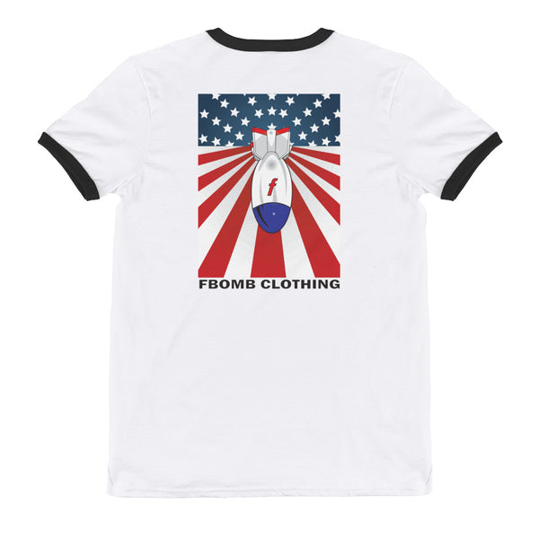 Ringer New Patriot FBomb T-Shirt