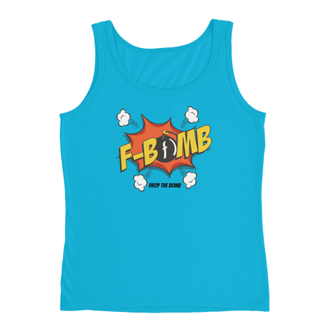 Dreamlove Cartoon FBomb Ladies Tank