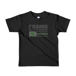 Short sleeve FBomb St. Patrick's Day kids t-shirt