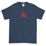 Red Militia FBomb Short Sleeve T-Shirt - Dark Shirts