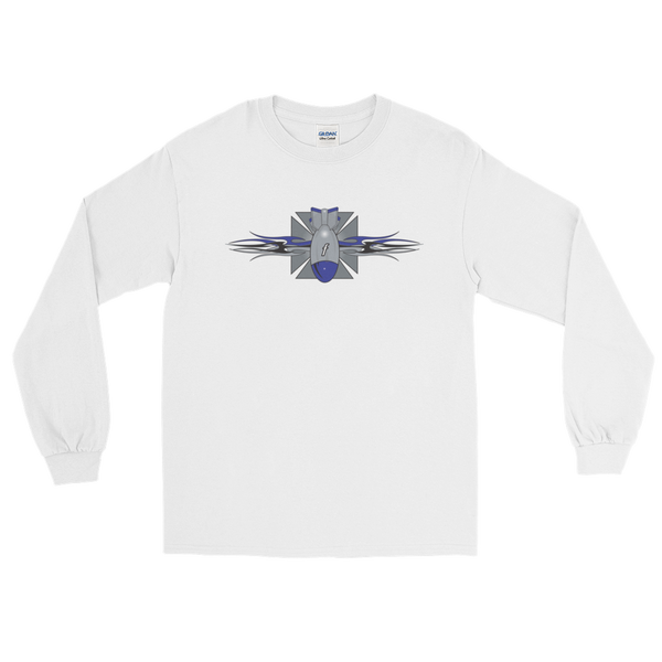 Maltese Cross Fbomb Long Sleeve T-Shirt