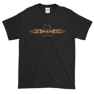 Biohazard Tribal FBomb Short Sleeve T-Shirt - Dark Shirts
