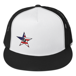 FBomb American Militia Trucker Cap - Light