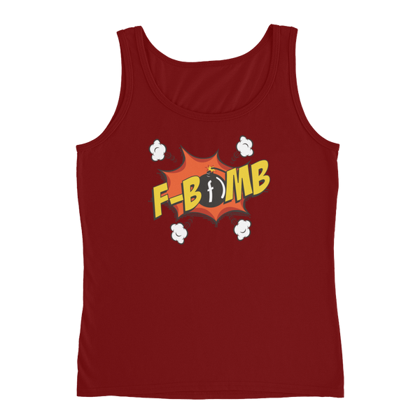 Dreamlove FBomb Cartoon Ladies' Tank