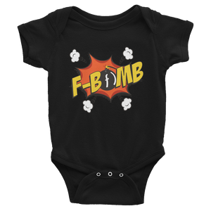 Dreamlove Cartoon FBomb Infant Bodysuit