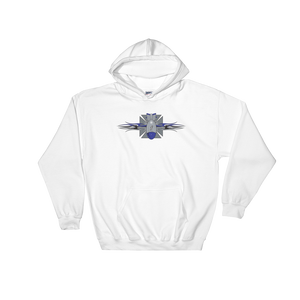 FBomb Maltese Cross Hooded Sweatshirt