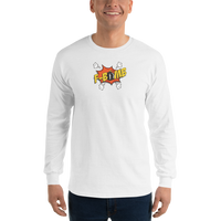 Dreamlove Cartoon FBomb Long Sleeve T-Shirt