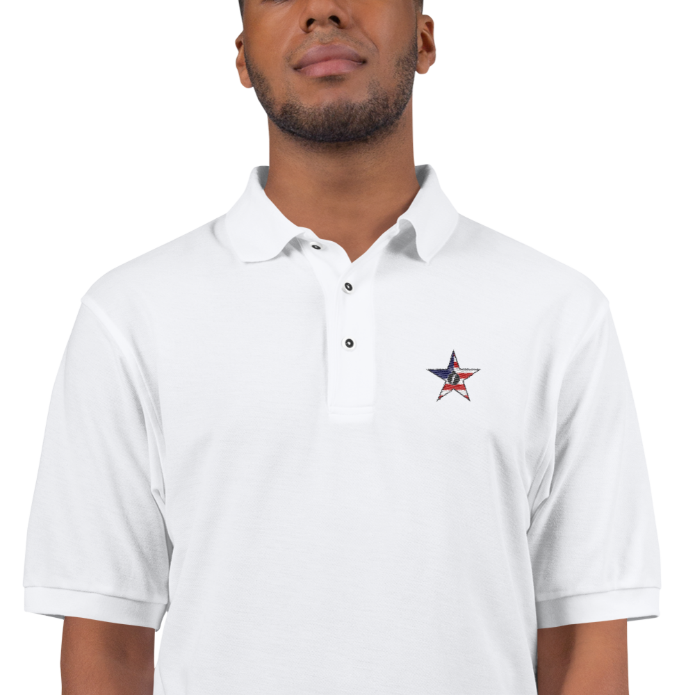 FBomb American Militia Premium Sports Polo - Light
