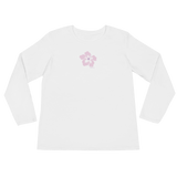 Ladies' Long Sleeve Flower FBomb T-Shirt