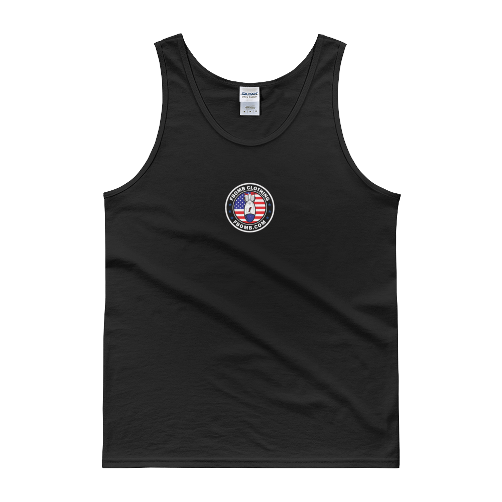 Modern Patriot FBomb Dark Colored Tank top