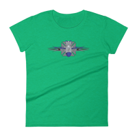 Maltese Cross FBomb Women's short sleeve t-shirt