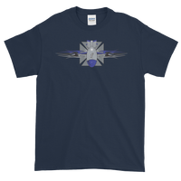FBomb Maltese Cross Tribal Short Sleeve T-Shirt - Dark Shirts
