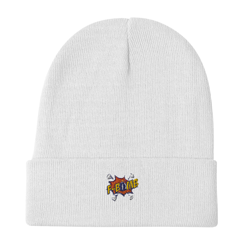 Dreamlove F-Bomb Embroidered Beanie