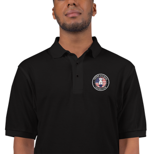 FBomb Patriot Premium Sports Polo - Dark