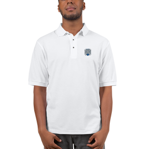 FBomb Maltese Cross Premium Sports Polo - Light