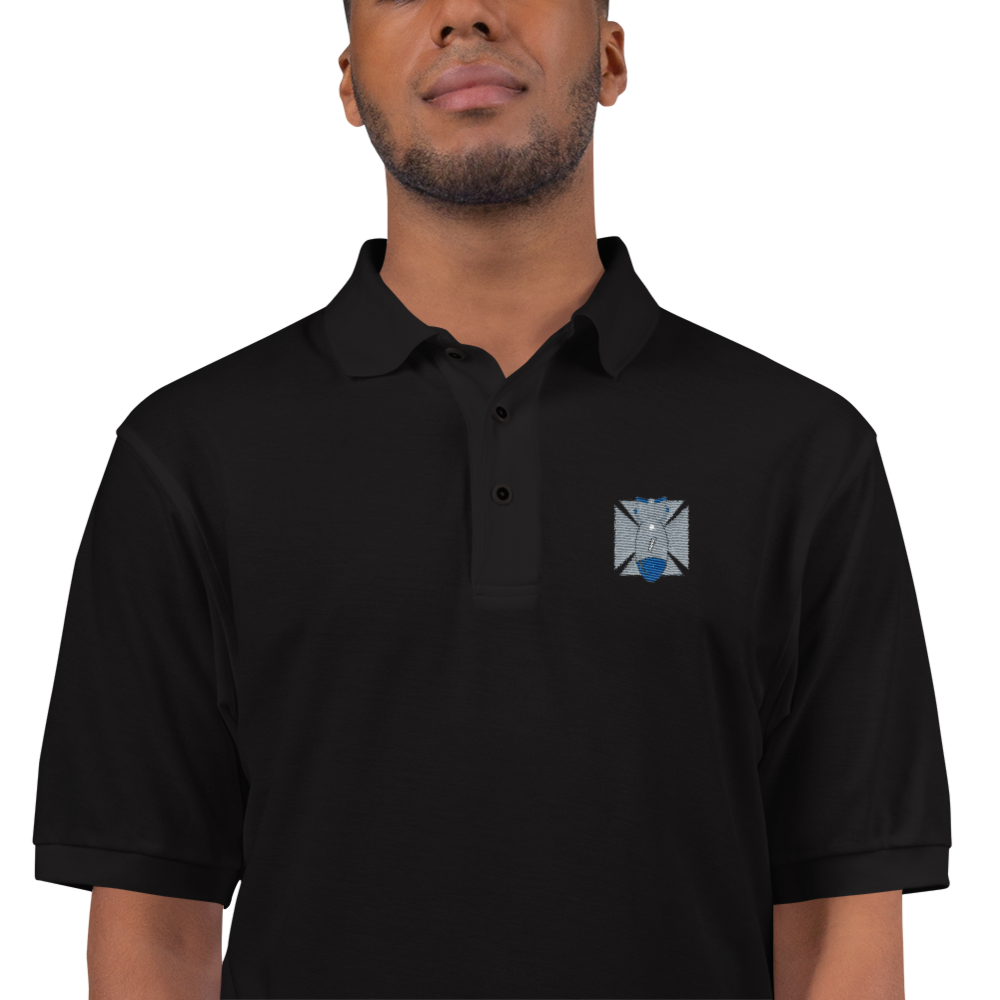 FBomb Maltese Cross Premium Sports Polo - Dark