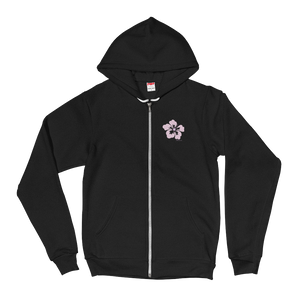 Women's Flower FBomb Fleece Hoodie sweater
