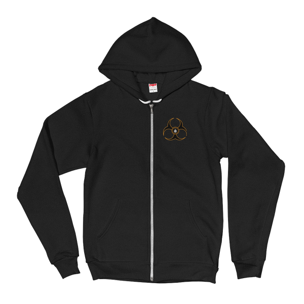 FBomb Biohazard Fleece Hoodie sweater