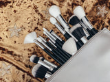 BLACK BRUSH SET - 17 pcs