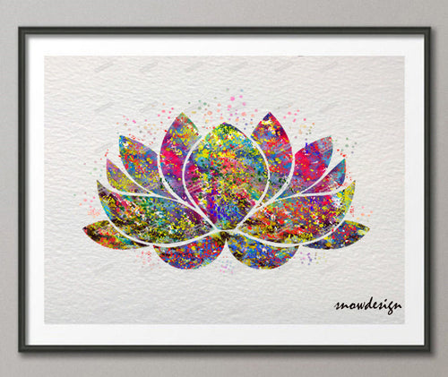 Lotus Flower Canvas