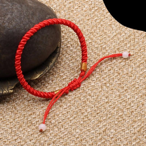 Red Braided Thread Lucky Bracelet