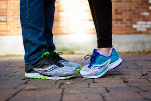 Saucony Ride 10, men's and women's running shoes