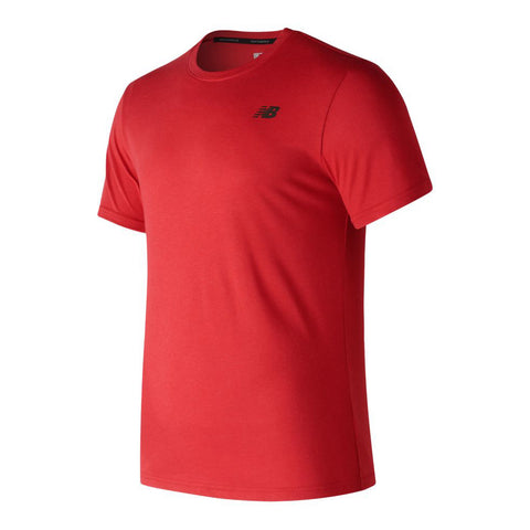 Men's New Balance Heather Tech Short Sleeve