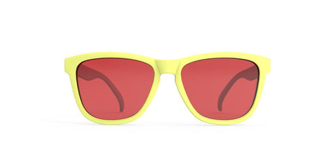 "Goodr OG Sunglasses (Polarized) ""Pineapple Pain Killers"" - Sunglasses - Sports 4"