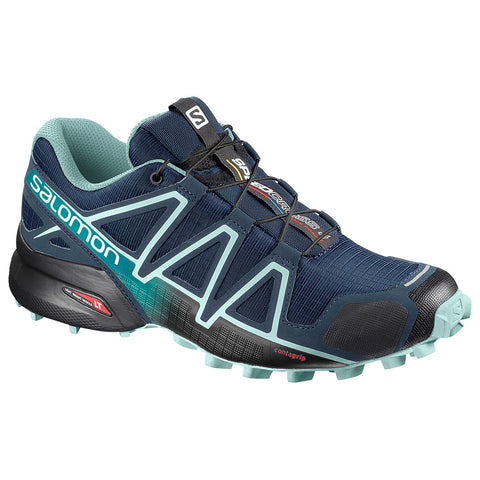Women's Salomon Speedcross 4 D (Wide) - women's trail running shoes - Sports 4