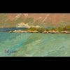 plein air oil painting by Raymond Helgeson, Sucaraj, Hvar, Croatia